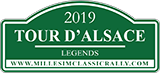 logo 2019 plaque rallye TAlsace LEGENDS w160x73px